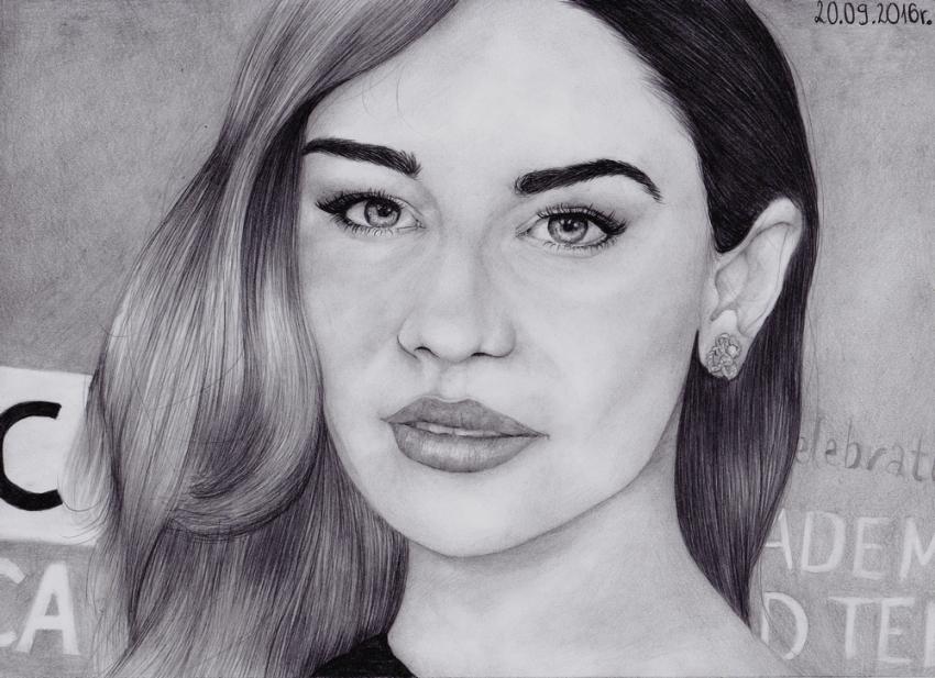 Emilia Clarke par AffichE